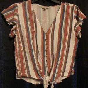 Western striped shirt